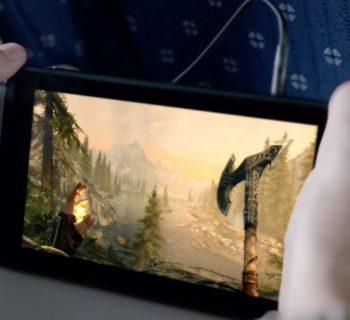 Depois de tantas promessas, a Bethesda trará Skyrim para o Switch.