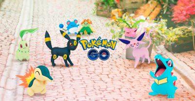 Pokémon Go - Atualização 2a Geração