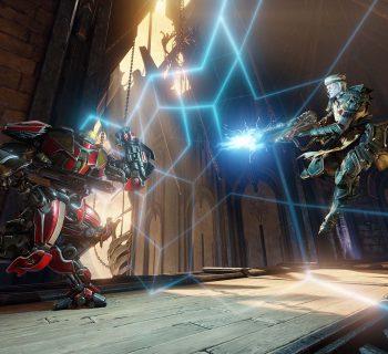 Quake Champions trará personagens com habilidades diferenciadas e muita ação nas batalhas.