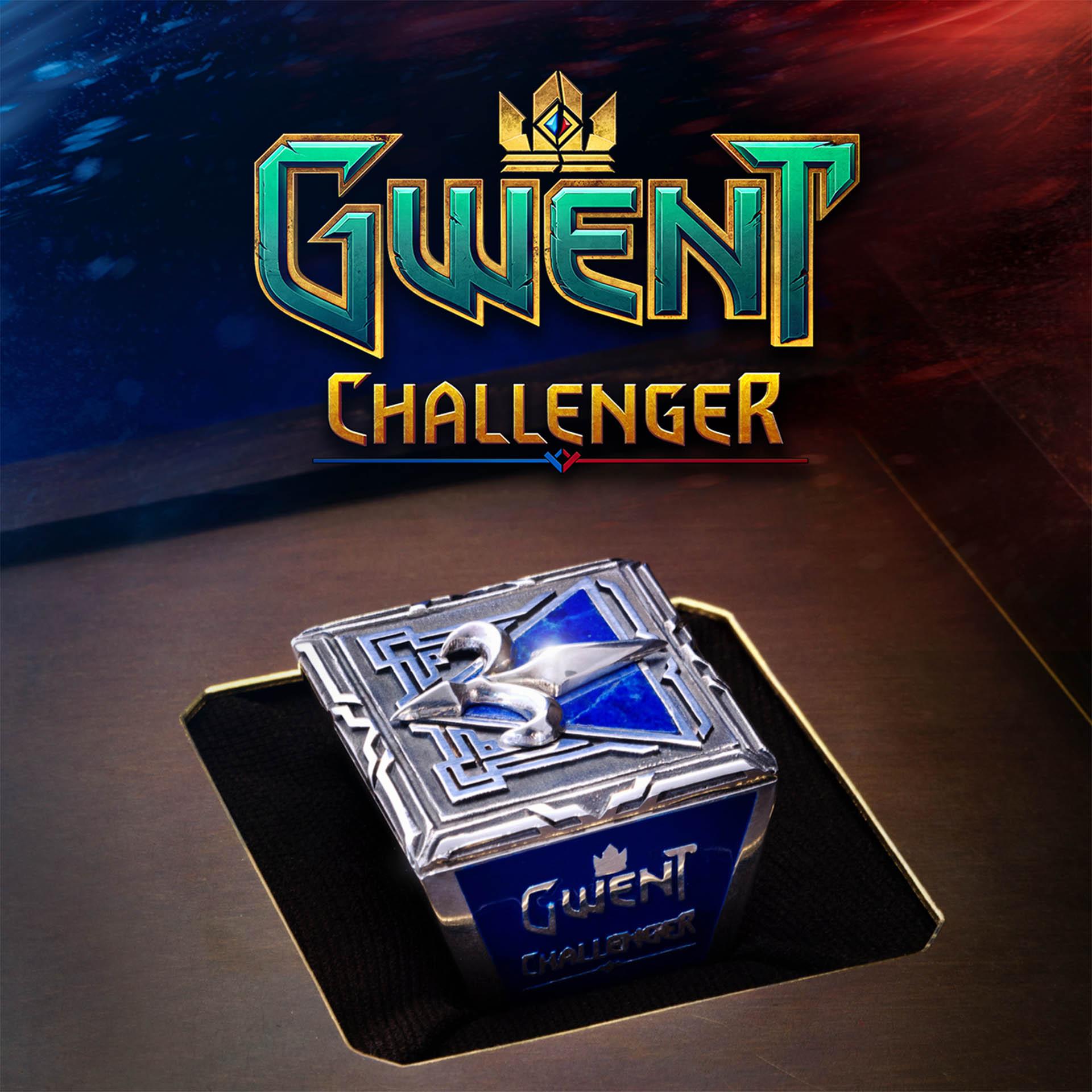O anel de campeão do GWENT Challenger!