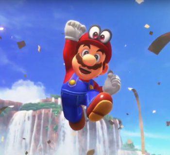 E é claro que Super Mario Odyssey também esteve presente e trouxe cenas incríveis do novo game para o Switch!