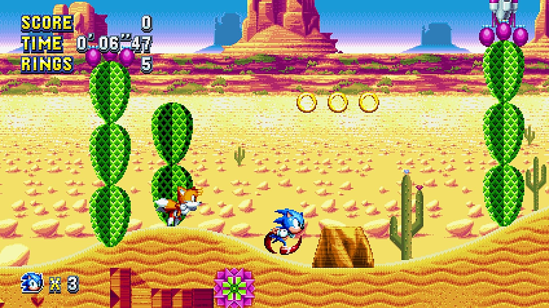 Sonic mania mirage saloon zone