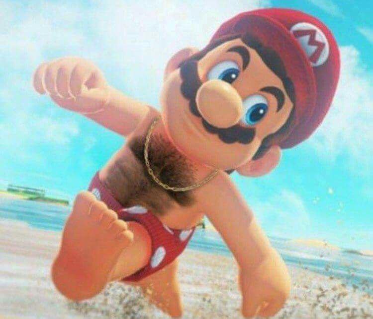 Melhor versão do Super Mario Odyssey Mamilos Edition!
