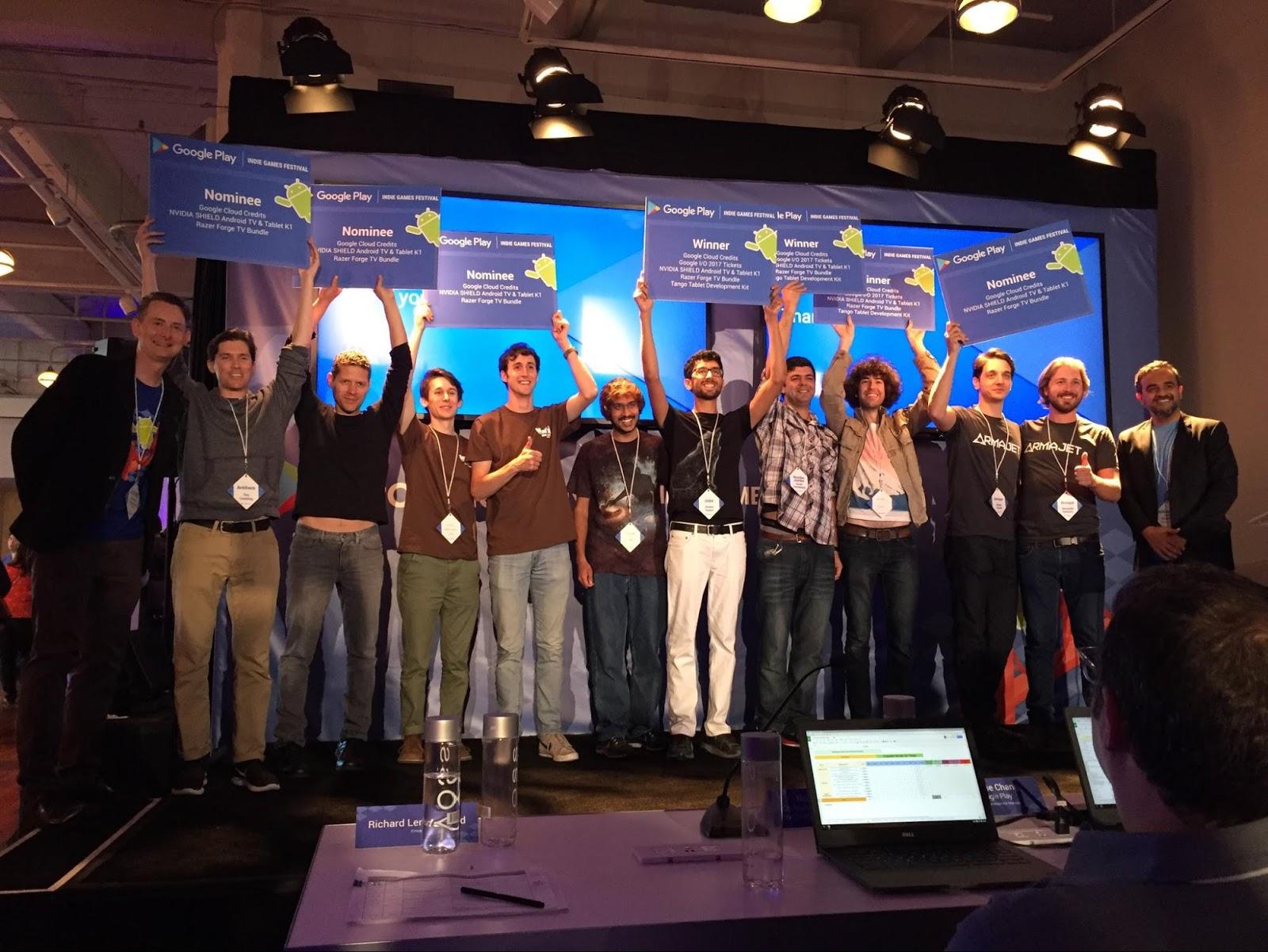 Indie Games Festival premiará os 15 melhores jogos indie com equipamentos e divulgação na Google Play.