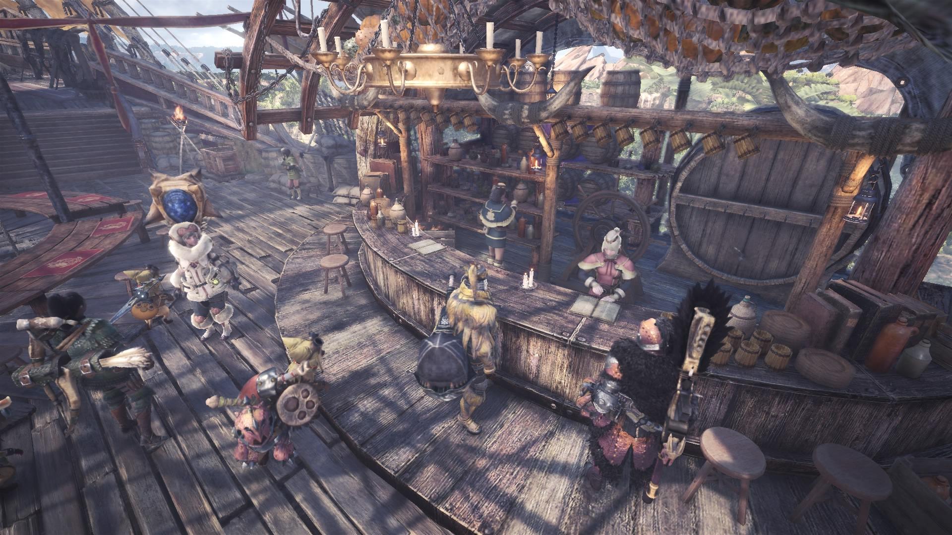 Multiplayer de Monster Hunter: World leva os jogadores a uma caçada alucinante.