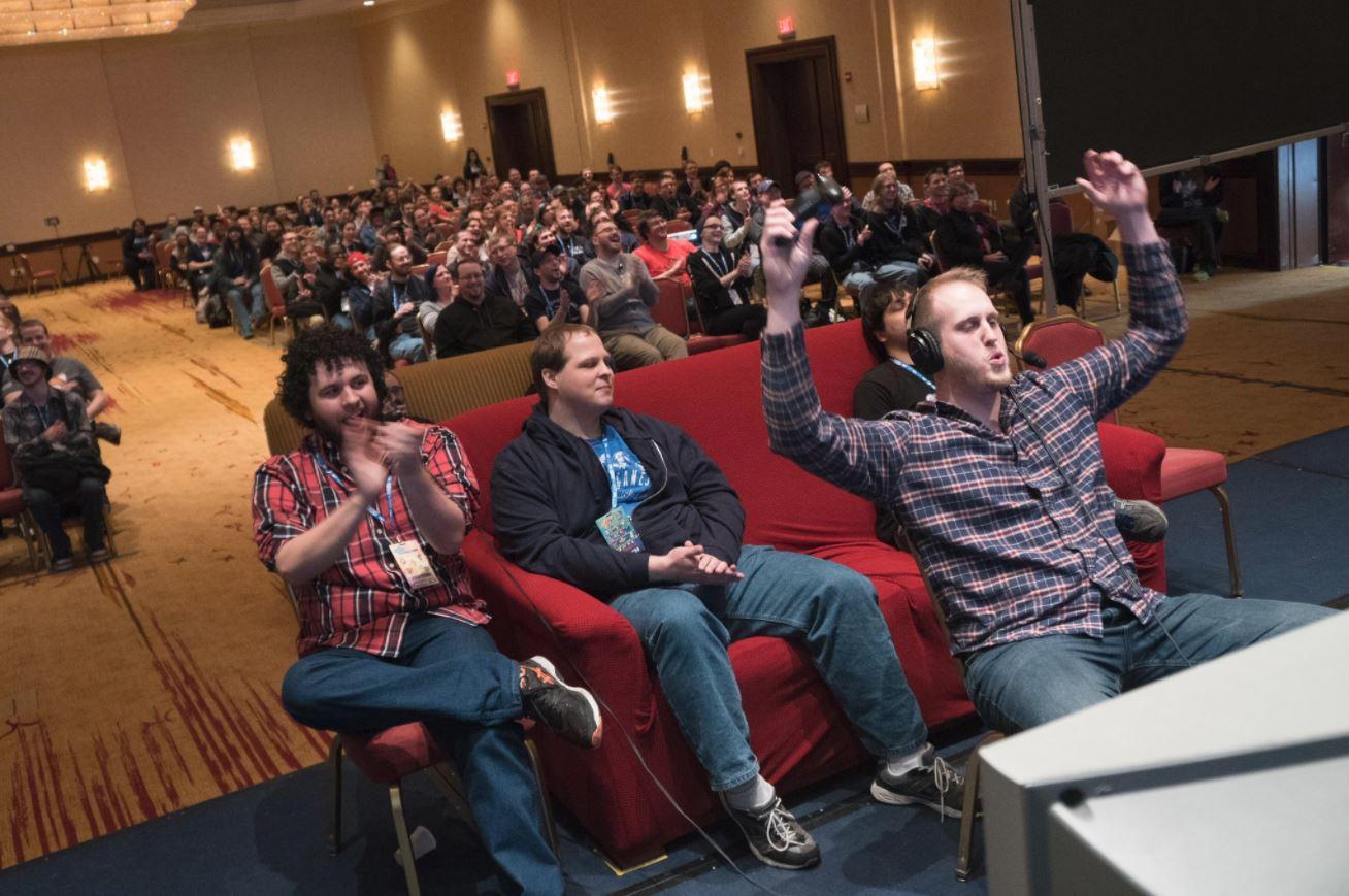 Atletas, organizadores e espectadores se divertiram e compartilharam histórias sobre a luta contra o câncer durante a Awesome Games Done Quick 2018.